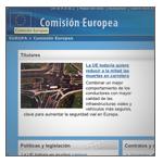 Abrir web Comisión Europea