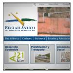 Abrir web Eixo Atlántico